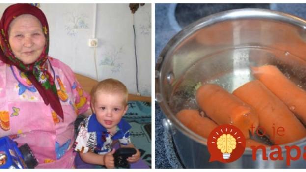 Zázračná babičkina polievka proti hnačke u detí: Tento recept kedysi zachraňoval životy a aj dnes by ho mal poznať každý rodič!