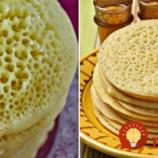 Marocké palacinky z penového cesta: 1000 a 1 bublinka na povrchu, jemné a vzdušné ako obláčik!