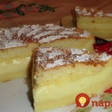 Inteligentná torta: Nemusíte riešiť žiadne krémy ani zložité plnky, všetko len nalejte do formy a rúra sa postará o toto sladké kúzlo!