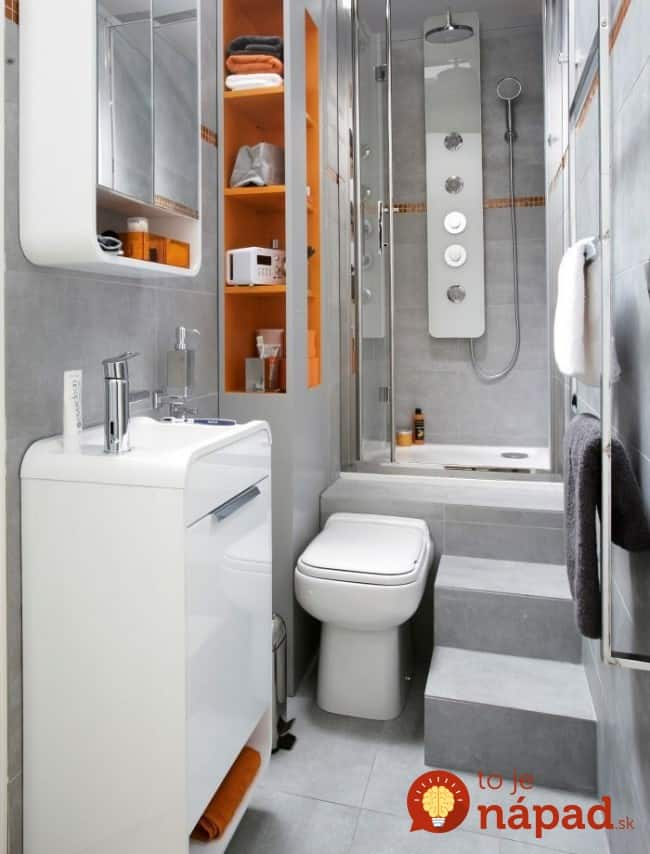 Tak to mali k k pe u sme h dam e te nevideli man elia for Two piece bathroom ideas