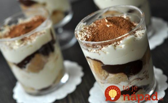 Geniálny dezert do pohára: Opité banániky v horúcej čokoláde!