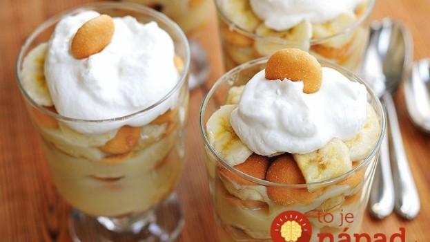 Geniálny dezert v časoch chrípky, ak neviete do maródov dostať zázvor: Karamelový krém so zázvorom a banánmi!