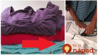 Hnevalo ju, že skriňa je plná starých tričiek, ktoré roky nikto nenosí: Vzala nožnice a do jedného ich rozstrihala, z jej nápadu budete nadšení!