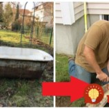 Na pozemok vyniesli starú vaňu, kamene a lacný obklad: Stačilo pár hodín a teraz im to v záhrade závidia všetci susedia!