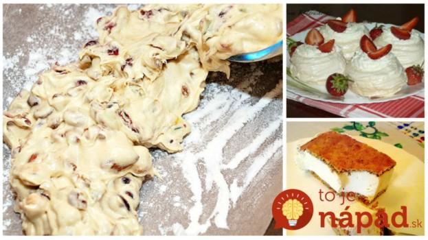 Zvýšili vám počas pečenia pár bielkov: 11 perfektných nápadov, ako z nich pripraviť najlepšie veľkonočné dezerty!