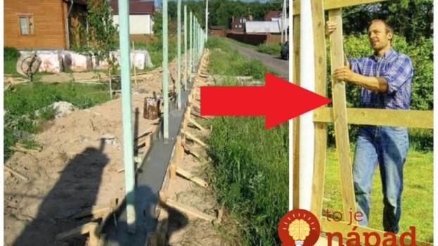 Zabudnite na ťažké murované ploty za drahé peniaze: Perfektné nápady na ploty, ktoré si poskladáte sami, vyzerajú skvele a zakryjú aj staré pletivo!