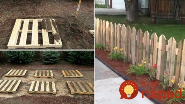 Drevené dosky môžete túto jar geniálne využiť: Stačí pár hodín a takto perfektne si môžete vylepšiť aj vašu záhradu – skoro zadarmo!