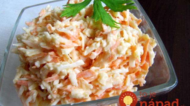 Namiesto ťažkých zemiakových šalátov skúste toto: Ľahký zelerová šalát s fantastickou zálievkou
