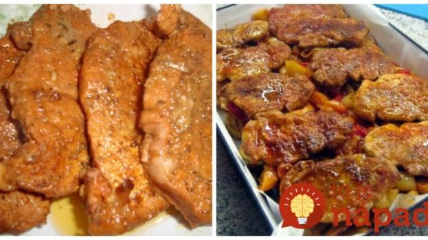 Utepené rezne na maďarský spôsob: Geniálne papanie – mäsko je mäkučké, šťavnaté a fantasticky chutné!