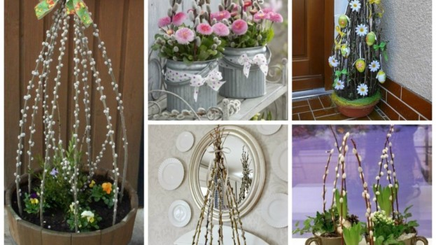 17 krásnych nápadov, ako si vyzdobiť na Veľkú noc vchod do domu!