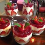 Najdokonalejšia ovocná pochúťka do pohárov: Krémové pokušenie s pudingom – zdravé a neskutočné chutné!
