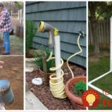 Vylepšia vám záhradu, ušetria peniaze a pomôžu pri sadení: 27 výborných nápadov, ako využiť zvyšky z potrubia na pozemku!