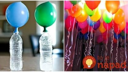 Perfektný trik, ako nafúknuť balóny bez hélia: Geniálna vec pre každého, kto chystá oslavu!