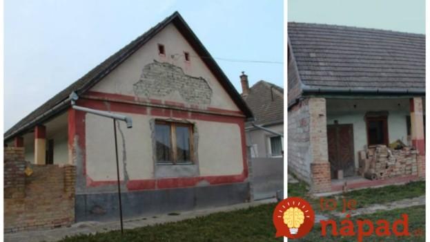 Na dôchodok snívali o vlastnom domčeku: Zamilovali sa do starého farmárskeho statku na dedine a takto úžasne ho prerobili!