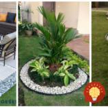 Stačí len úzky pásik kamienkov a vašu záhradu to celkom zmení: 26 úžasných nápadov, ktoré do vašej záhrady vnesú nevídané čaro!