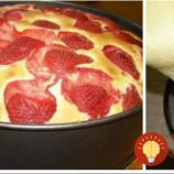 Ako pierko nadýchaný jahodový koláčik: Konečne som našla recept na dokonalé cesto, ktoré nespadne a vždy sa vydarí!