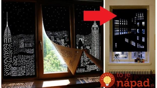 Zabudnite na rolety a závesy v ktorých sa len drží prach: Toto geniálne riešenie vám ušetrí peniaze, zakryje škaredé okná a vyzerá to úžasne!