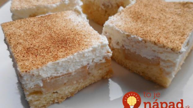 Švédsky pudingovo – škoricový koláč: Pre našu rodinu ten najlepší koláčik na svete!
