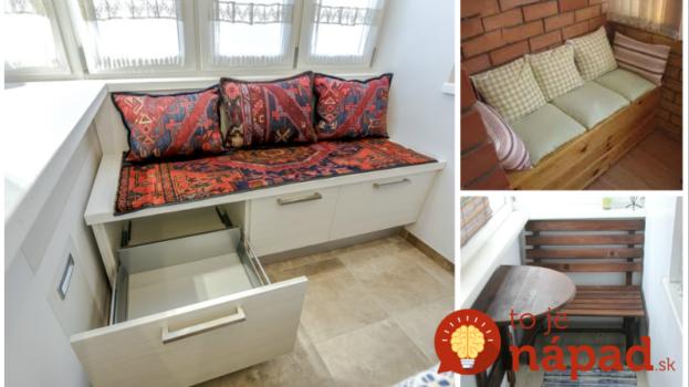Títo ľudia si aj na malom balkóne v bytovke zhotovili krásne sedenie: 23 perfektných nápadov, ktoré vás budú tešiť počas celej sezóny!