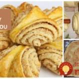 Turecké škoricovo-orechové trohranky: Tieto koláčik idú u nás doma na dračku, minú sa aj 3 plechy!