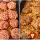 Sedliacky kastról s pečeným mäsom a kapustou: Z jednej hlávky a 500 g mletého mäsa vedeli naše babičky vykúzliť hody pre celú rodinu!