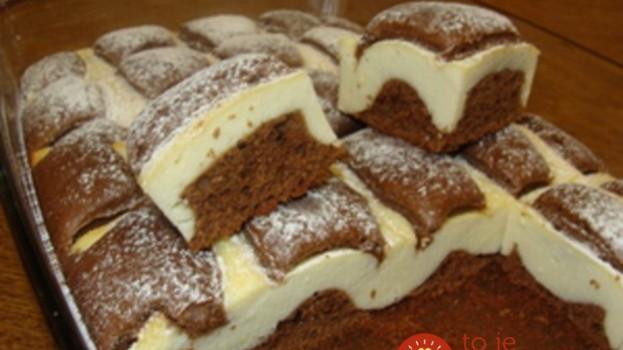 Granko-tvarohové rezy: Tento koláčik každý u nás doma vychválil do nebies!