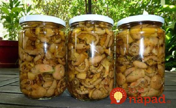 Tento nápad mi poradil skúsený hubár z Oravy a naozaj to funguje: Aj po 2 rokoch chutia ako čerstvé, bez nálevu, vody a akýchkoľvek prísad!