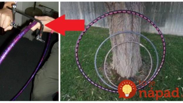 Keď deti stratili záujem o tieto obruče na cvičenie, mamička dostala geniálny nápad: Z tohoto bude nadšená aj vaša rodina!