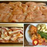 Strašne dobrý obed, na ktorý vám treba len 4 prísady: Lenivé obložené rezne – výborné a pripravené za minútku!
