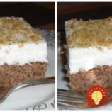 Veľmi šťavnatá piškóta z cukety, bez múky: Perfektná na torty a koláče, kto ochutnal neuveril, že v nej nie je žiadna múka!