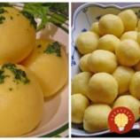 Kúzelné knedličky podľa našej babičky: Bez múky a vajec,  vám len 2 prísady a 10 minút času!