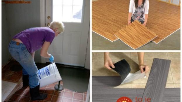 A podlahu netreba meniť, bude vyzerať ako nová: Perfektný nápad, ako zakryť škaredú podlahu v byte!