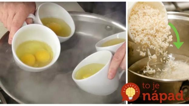 O tomto sa v kuchárke nedočítate: Triky profíkov, s ktorými bude aj najobyčajnejšia ryža chutiť ako z nóbl podniku!