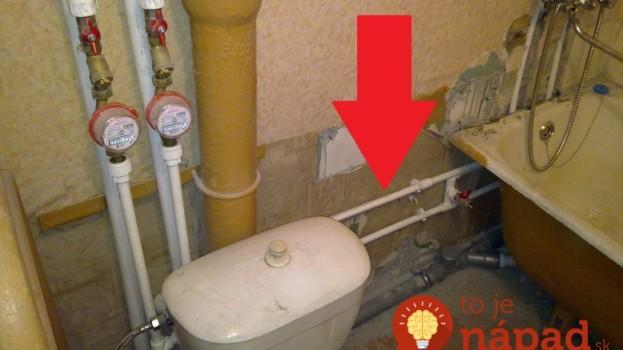 Pozrite sa, čo vymysleli: Geniálne nápady, ako v kúpeľni skryť škaredé časti potrubia a zamaskovať obrovský bojler!