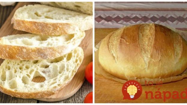 """Dokonalý """"okatý"""" chlebík bez roboty: Naučte sa fantastický hrnčekový chlebík bez miesenia"""