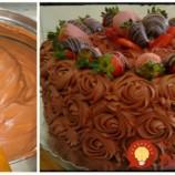 Kráľovský čokoládový krém bez varenia, bez vajec: Neprekonateľný na torty, zákusky aj do studených pohárov!