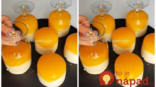 Zmrzlinu už u nás nikto nepýta, toto je najväčší letný hit: Vyklopené krupicové poháre s pomaračovým klobúkom!