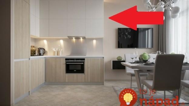 Nikdy v živote sme nevideli lepšie riešený malý byt v paneláku: Toto by mal vidieť každý, kto sa chystá prerábať!