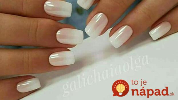 Zabudnite na obyčajný biely lak: Toto vás presvedčí, že s bielou vykúzlite tú najkrajšiu manikúru pod slnkom!