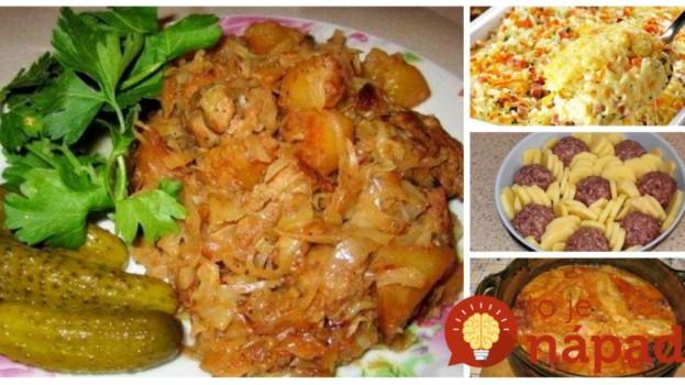 3 Eurá a sýta celá rodina: 17 receptov na jedlá za lacný peniaz, ktoré zasýtia celú rodinu – odskúšané, chutia fantasticky!