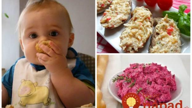 11 rýchlych a super-zdravých nátierok pre detičky: Môžu ich aj drobci do 3 rokov!