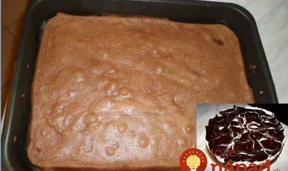 Parádna čoko piškóta BEZ MÚKY, úžasná na torty aj zákusky: Dajte na ňu akýkoľvek krém, polevu a máte úžasný bezlepkový dezert!