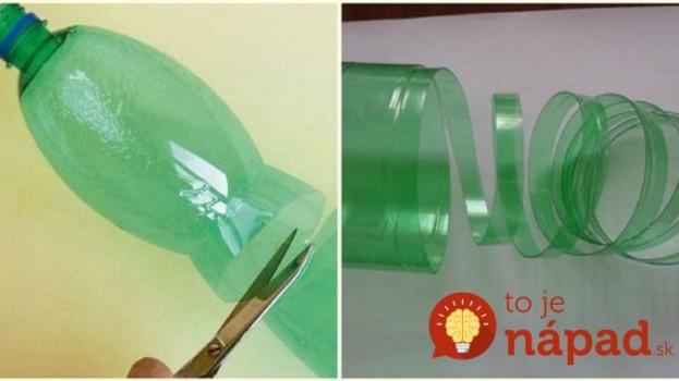 Táto mamička plastové fľaše nevyhadzuje, ale každú takto nastrihá: Neuveríte vlastným očiam, čo z nich vymyslela!