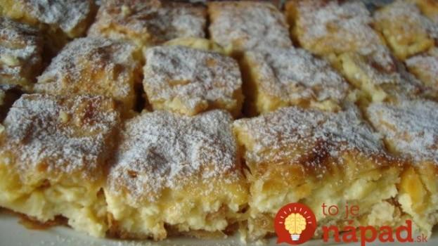 Kráľovský jablkový koláč s tvarohovým krémom: Nedá sa porovnať s ničím, čo sme piekli doteraz, neprekonateľný!