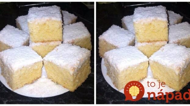 Môj manžel vyhlásil, že toto je ešte chutnejšie ako drahé Raffaello: Veľmi chutný a šťavnatý koláč z hrnčeka!