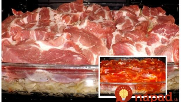 Strašne dobrý obed, na ktorý vám treba len 4 prísady: Lenivá krkovička z rúry – výborné papanie, ktoré pripravíte počas reklamy!