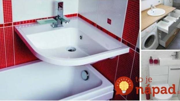 Dizajnér ukázal 21 nápadov pre kúpeľne s rozmermi len 2-3 metre štvorcové: Mini priestor to posunie na novú úroveň!