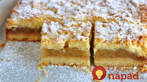 Najjemnejší jablkový koláč zo šľahačkového cesta: Toto je ešte lepšie, ako klasika z lineckého cesta!