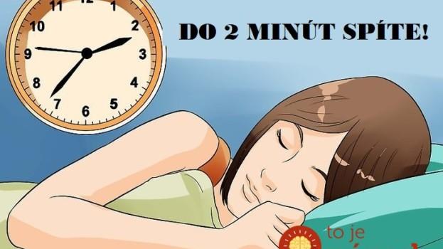 Skúste to už dnes a konečne sa vyspíte: Tajná vojenská technika, vďaka ktorej zaspíte už do 2 minút!