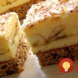 Prudko návykové banánové rezy s vôňou kávy: Úžasný zákusok s luxusným krémom – veľmi, veľmi šťavnatý!